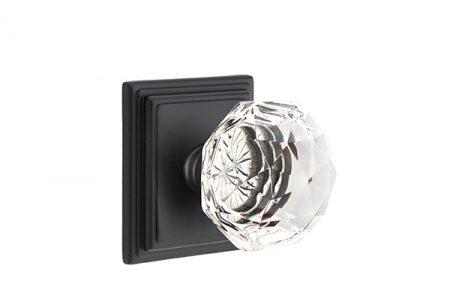 Flat Black. Modern Door Knobs