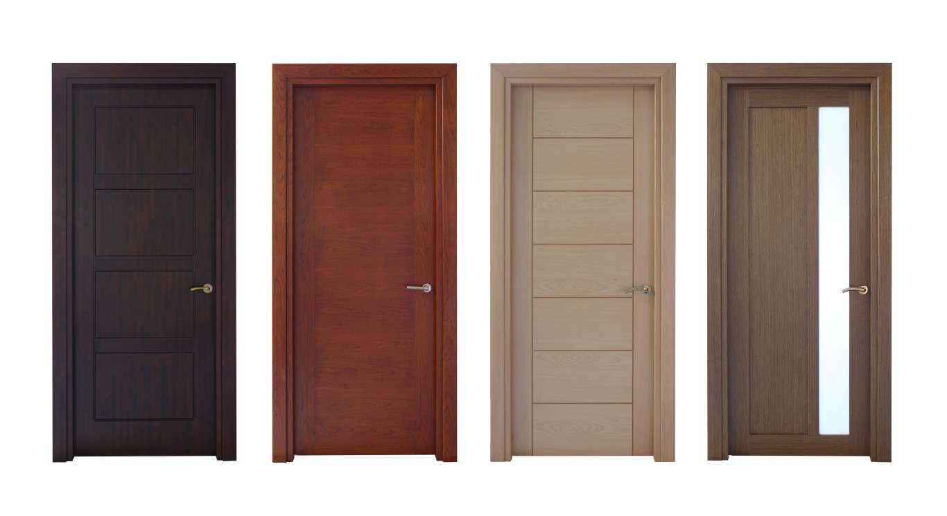 four types of modern interior doors the door boutique and hardware. Black Bedroom Furniture Sets. Home Design Ideas