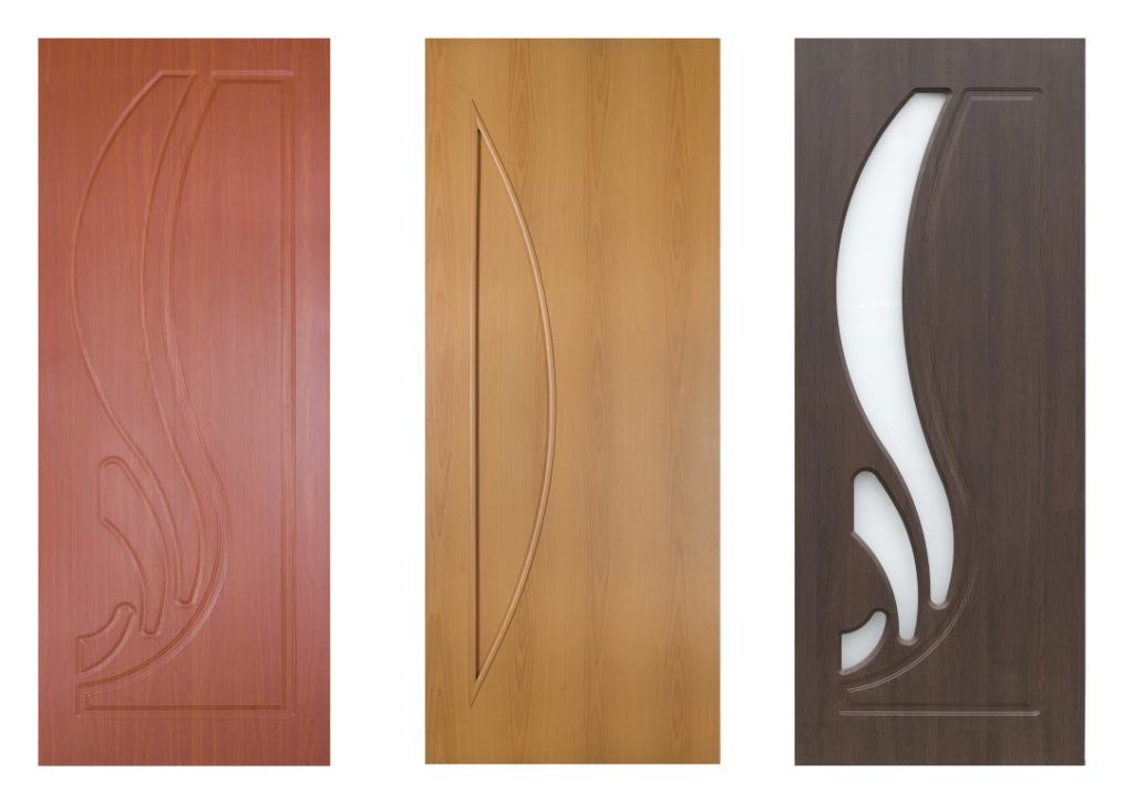 3 TYPES OF INTERIOR DOORS